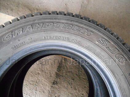 Зимние шины Dunlop Grandtrek sj6 175/80 15 дюймов б/у во Владивостоке