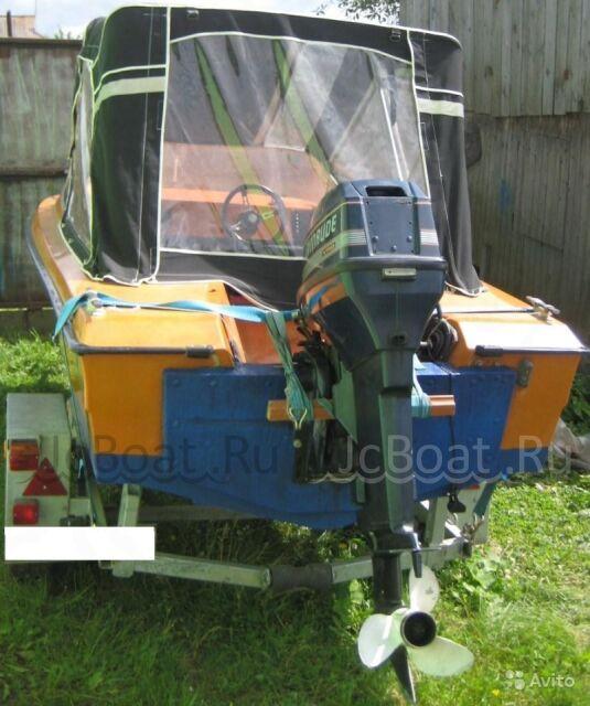 лодка пластиковая FINNSPORT 450 +Мотор 50л.с. +Прицеп 1992 года