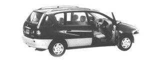 Toyota Ipsum 2WD L-SELECTION 1998 г.