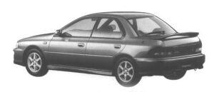 Subaru Impreza HARD TOP SEDAN SRX (4WD E-4AT) 1998 г.