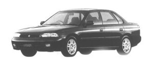 Subaru Legacy TOURING SEDAN TX TYPE S 1998 г.