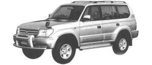 Toyota Land Cruiser Prado TZ3000 DIESEL TURBO WITH INTERCOOLER 1998 г.
