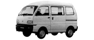 Mitsubishi Minicab VAN 2WD CD HIGH ROOF 1998 г.