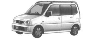 Daihatsu Move CUSTOM 1998 г.