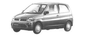 Mitsubishi Minica 3DOOR Pj 1998 г.