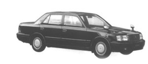 Toyota Crown SEDAN 3.0 ROYAL SALOON G 1998 г.