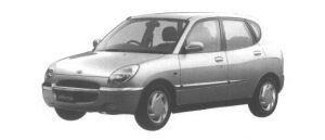 Daihatsu Storia CX 4WD 1998 г.