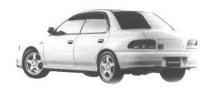 Subaru Impreza SPORT SEDAN WRX TYPE RA 1998 г.