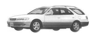 "Toyota Mark II Wagon 2.5 QUALIS ""G PACKAGE"" 1998 г."