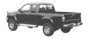 Toyota Hilux SPORT PICKUP 4WD EXTRA CAB 2400 TURBO 1998 г.