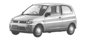 Mitsubishi Minica 3DOOR Pg 1998 г.