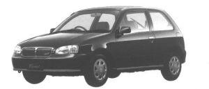 Toyota Starlet CARAT FF 3DOOR 1998 г.