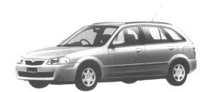 Mazda Familia S-WAGON S 1998 г.
