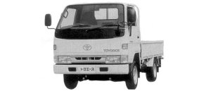 Toyota Toyoace G15 SUPER SINGLE JUST LOW LONG DECK 1.5 1998 г.