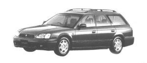 Subaru Legacy TOURING 250T 1998 г.