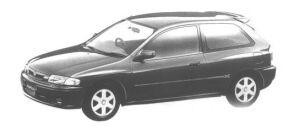 Mazda Familia HATCHBACK INTERPLAY X 1998 г.