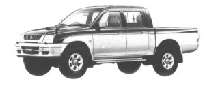 Mitsubishi Strada R 1998 г.