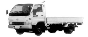 Hino Ranger 2 WIDE CAB, LONG,TURBO INTERCOOLER 1998 г.
