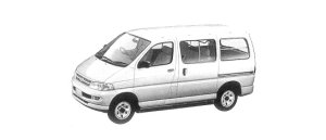 Toyota Regius VAN 4WD G 2/5-SEATER 4DOOR 3.0 DIESEL 2001 г.
