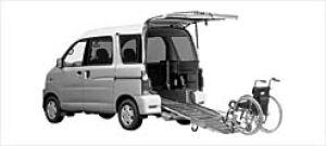 Daihatsu Atrai WAGON Sloper SX 2WD 2003 г.