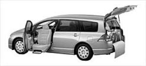Honda Odyssey ALMAS,Lift-upPassengerSeatVersion M FF 2003 г.