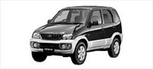Daihatsu Terios CL Limited  2WD 2003 г.