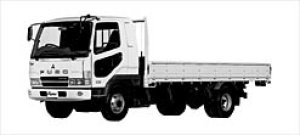 Mitsubishi Fighter LOW FLOOR 4WD Truck 2003 г.