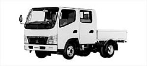 Mitsubishi Canter GUTS ALL LOW FLOOR, DOUBLE CAB 2003 г.