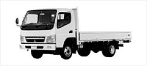 Mitsubishi Canter WIDE ALL LOW FLOOR, 4WD LONG BODY 2003 г.