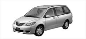 Mazda MPV B (2.3L) 7-seaters, FF 2003 г.