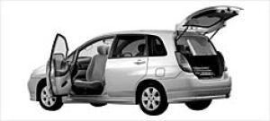Suzuki Aerio 5Doors Passenger Swivel  Seat Car 2003 г.