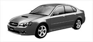 Subaru Legacy B4 2.0GT 2003 г.