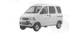 Daihatsu Hijet VAN CARGO DELIVERY 2000 г.