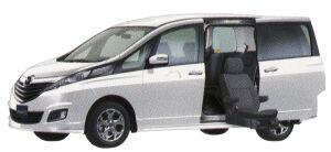 Mazda Biante GRANZ-SKYACTIV Second Lift-up Seat Vehicle 2014 г.