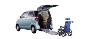 Honda Zest G FF Wheelchair-accessible model 2009 г.