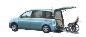 Toyota Sienta Welcab,Wheelchair Specification Type I 2006 г.