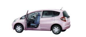 Honda Fit G FF Swiveling Passenger Seat Version 2009 г.