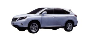 "Lexus RX450H ""version L · Air suspension"" 2009 г."