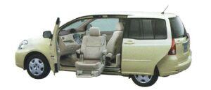 Toyota Raum Welcab Passenger Lift-up Car (Panorama type) A type 2006 г.