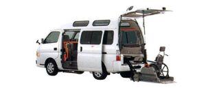 Nissan Caravan 2WD, Chair Cab, M-Type, 10-seater/2-wheelchair (Gasoline) 2007 г.