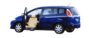 Mazda Premacy 20CS Passenger Lift-up Seat Vehicle 2007 г.