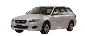 Subaru Legacy TOURING WAGON 2.0i Casual edition 2008 г.