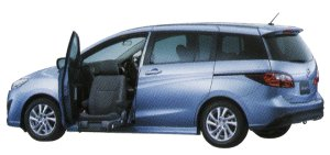 Mazda Premacy 20S-SKYACTIV Passenger Lift-up Seat Vehicle 2014 г.