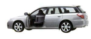 Subaru Legacy Trans Care Wing Seat 2007 г.