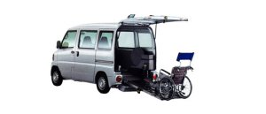 Mitsubishi Minicab Wheelchair Specification Kneel-down Type 2009 г.