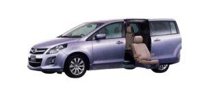 Mazda MPV 23S Second Lift-up Seat Vehicle 2009 г.