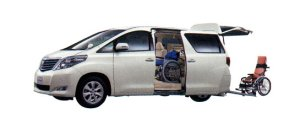 Toyota Alphard Welcab, Wheelchair Specification, Type I 2009 г.