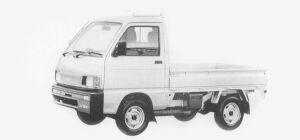 Daihatsu Hijet SUPER DELUXE 2WD 1993 г.