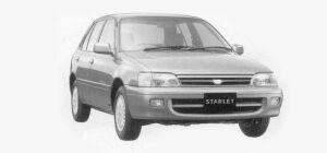 Toyota Starlet 4WD 5 DOORS  X 1993 г.