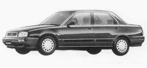 Daihatsu Applause 16Si 1993 г.